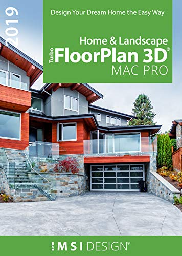 TurboFloorPlan Home & Landscape 2019 Pro [Mac Download]