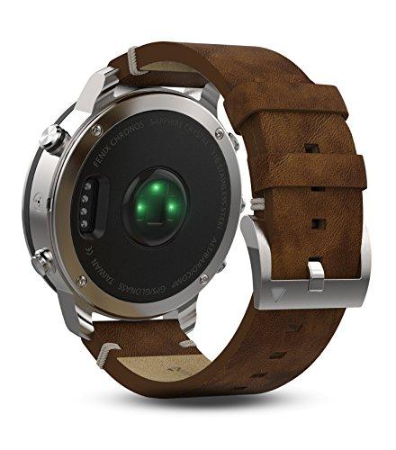 Garmin Fenix Chronos Cuero Exr Reloj, Talla Única: Amazon.es: Electrónica