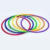 S&S Worldwide YS-AR-20 Spectrum Flat Hoops/Agility Rings, 19''