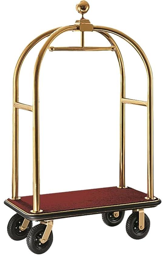 gastlando - Carrito para equipaje Dorado dorado BxTxH: 1100 x 620 x 1900 mm