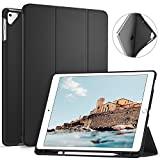 Ztotop iPad Pro 12.9 Inch 2017/2015 Case with Pencil Holder- Lightweight Soft TPU Back Cover and Trifold Stand with Auto Sleep/Wake,Protective for Apple iPad Pro 12.9 Inch,Black