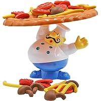 YeahiBaby Juegos de Equilibrio Pizza de Mesa Juguetes