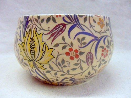 Heron Cross Pottery William Morris Flora Design Offene Zuckerdose