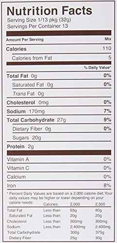 Miss Jones Baking Organic Brownie Mix, Fudgy Chocolate, 14.67 Ounce by Miss Jones Baking (Image #1)