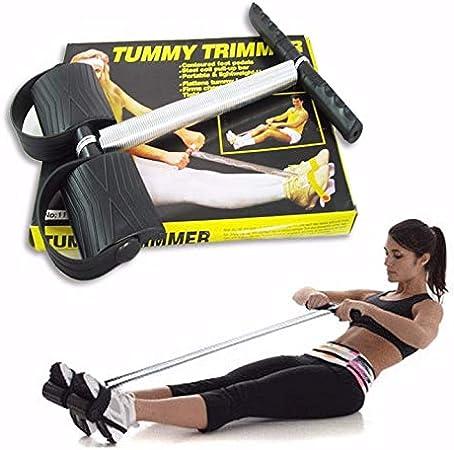 Fitness ejercicio en el pecho y fortalecimiento muscular Extensi/ón pectoral ajustable con muelles de acero para resistencia Atletica Ducomi Body Building y gimnasia