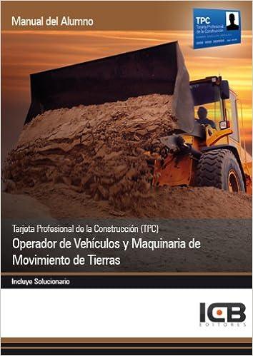 Tarjeta Profesional de la Construcción TPC . Operador de Vehículos ...