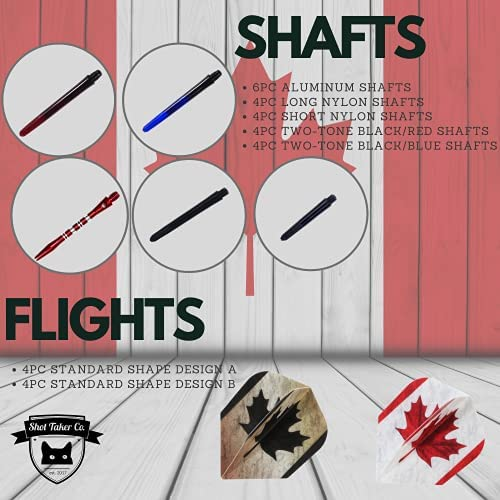 Details about  /Shot Taker Co Standard Plastic Dart Flights 15 Pack Multicolored