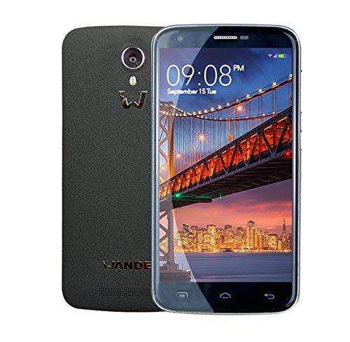 1 opinioni per Wander USA Smartphone W6 Plus Dual Sim Stone Black- Mobile Phone Smart Phone