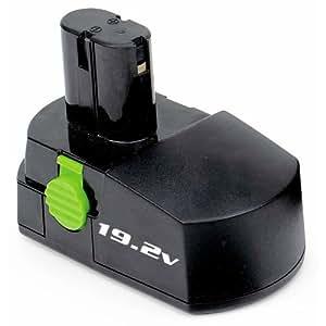 Kawasaki 840045 Black 19.2-Volt 1-1/3-Amp Hour NiCad Pod Style Battery