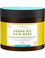 Calily Life Organic Moroccan Argan Oil Hair Mask with...