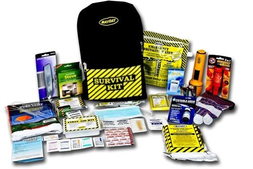 Mayday KEX1 1 Person Deluxe Emergency Backpack Kit by Mayday