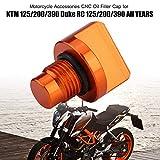 Oil Filler Cap - Motorcycle Accessories CNC Oil