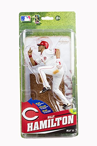 McFarlane Toys MLB Series 33 Billy Hamilton Action Figure - All Star Game Collectible Baseball