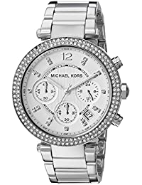 Women's Parker Silver-Tone Watch MK5353