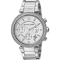 Michael Kors Women's Parker Silver-Tone Watch MK5353