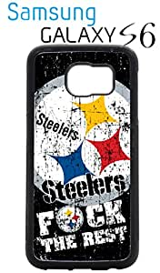 Pittsburgh Steelers Samsung Galaxy s6 Case Hard Silicone Case