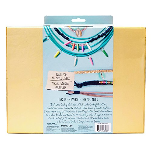 Review STMT DIY Leather Jewelry Kit by Horizon Group USA