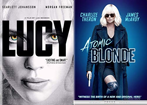 SYFY ACTION Leading Lady Madness - Lucy & Atomic Blonde (2 Feature Film DVD Bundle)