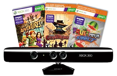 Kinect Sensor with Kinect Adventures and Gunstringer Token Code (OLD MODEL)