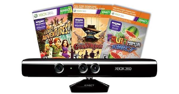 Amazon.com: Kinect Sensor with Kinect Adventures and ...