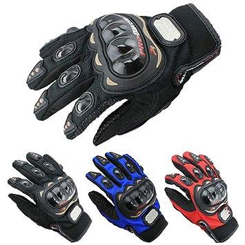 interjunzhan Professional Motorcycle Motorbike Cycling Full Finger Gloves Motocross Racing Pro-Biker M//L//XL 1Pair