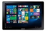 "Samsung Galaxy Book 12"" Windows 2-in-1 PC (Wi-Fi) Silver, 8GB RAM/256GB SSD (SM-W723NZKAXAC)"