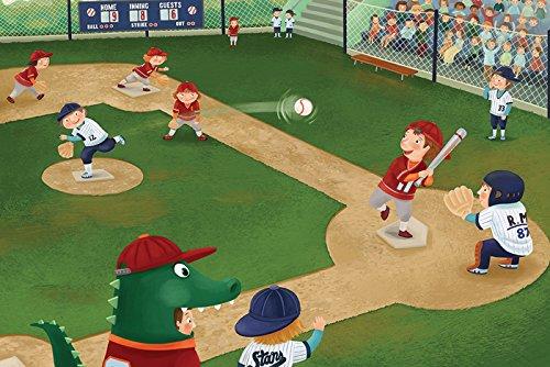 Junior League Baseball Art Print, Poster or Canvas
