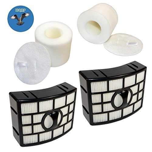 - HQRP 2-Pack Filter Kit (HEPA+ Foam & Felt) for Shark APEX AX950 AX951 AX952 AZ1000W AZ1002 AZ1002BRN DuoClean Powered Lift-Away Vacuum, XHF650 XFF650 Replacement + HQRP Coaster