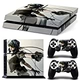 EBTY-Dreams Inc. - Sony Playstation 4 (PS4) - Ghost In The Shell Anime Major Motoko Kusanagi Vinyl Skin Sticker Decal Protector