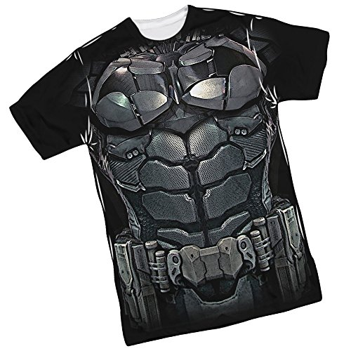 City Batman Hatter Arkham Costume Mad (Costume -- Batman Arkham Knight Front/Back Print Sports Fabric T-Shirt,)