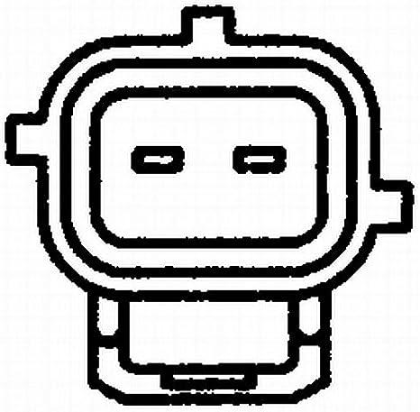 Temperatura refrigerante con guarnizione N/° raccordi 2 HELLA 6PT 009 107-481 Sensore