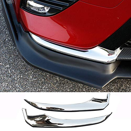 NINTE Front Bumper Side Cover for Camry SE XSE 2018-2019, Chrome Bumper Garnish Trim