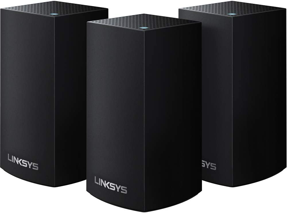 Linksys MC3600 Velop Whole-Home Mesh WIFI System (Mesh Router for Whole-Home Wifi Mesh Network), 3-Pack, Black
