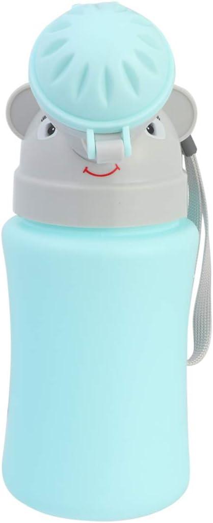 Healifty Kind T/öpfchen Urinal Nottoilette Auslaufsicher Urinie Container Tragbares Urinal Kleinkind Ausbildung Pinkeln Zuhause Camping Auto Reisen f/ür Jungen