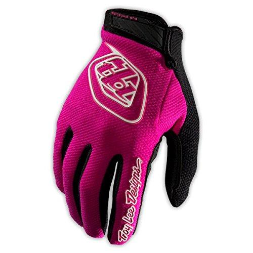 Troy Lee Designs Air Youth Boys Motocross Motorcycle Gloves - Pink / Medium