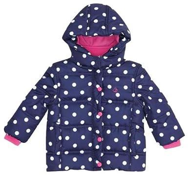 b5b719ae72e5 Amazon.com  JoJo Maman Bebe Girls  Puffer Jacket  Clothing