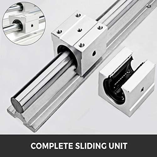 Mophorn Kit CNC de Carril de Gu/ía Lineal 2PCS 1500mm SBR16 4PCS SBR16UU Bloque para M/áquinas CNC Son Perfectas para Sus Enrutadores de Bricolaje Molinos Tornos Ampliamente Utilizados en La Maquinaria