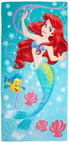 Diseño de la Sirenita Disney 100-algodón toalla de playa de Disney