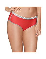 Hanes X-Temp Women`s Sport Comfort Hipster Panties, C41AS, 6, Assorted