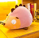Pinjewelry Home Decoration Soft Toys 40cm Tall Hedgehog Soft Plush Toy Fluffy Stuffed Hedgehog Soft Toy Gift for Children Kids (Pink)