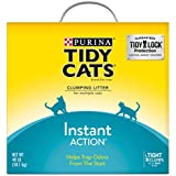 Purina Tidy Cats Instant Action Clumping Cat Litter - 40 lb. Box