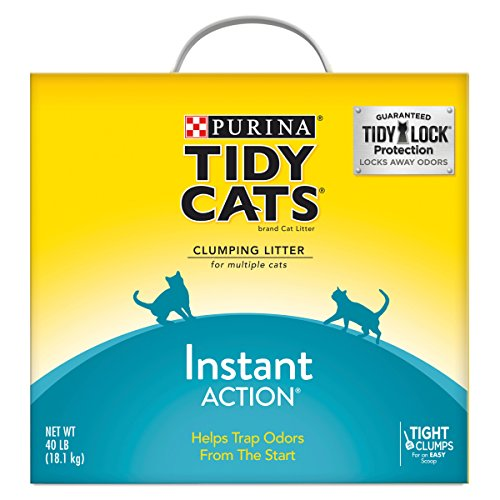 Purina Tidy Cats Instant Action Clumping Cat Litter - 40 lb.