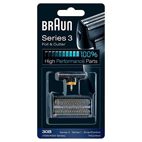 - Braun 30B Replacement Foil and Cutter Cassette Multi Black BLS Combi Pack