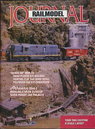 Railmodel Journal : Articles- Wood Decks for Plastic Flat Cars; Tether Control Throttle; HO Scale Five 20 Containers Models; V-Deck Pulpwood Car; A Pulpwood Loading Facility (1994 - Pulpwood Ho Flat Car