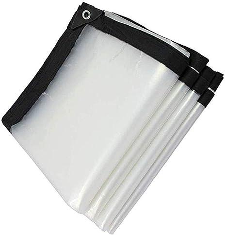 MYMAO 01Lona Impermeable Blanca Transparente de Efecto Invernadero de la pel/ícula Protectora de pl/ástico a Prueba de Lluvia del pa/ño,1x1m