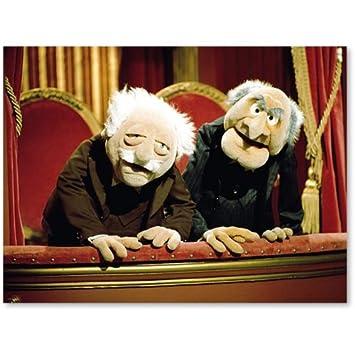 Baumarkt Walldorf muppets kunstdruck walldorf statler amazon de spielzeug