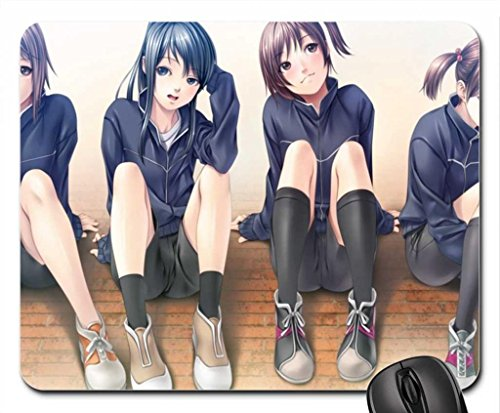 fends resting hard sport Mouse Pad, Mousepad (10.2 x 8.3 x 0.12 inches)