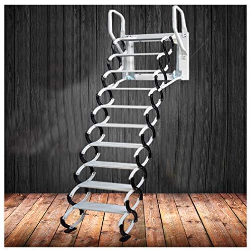 Heavy Duty Steel Metal Loft Wall Ladder Stairs Attic Household