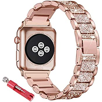 Amazon.com: Tomplus Bling Bands Compatible Apple Watch