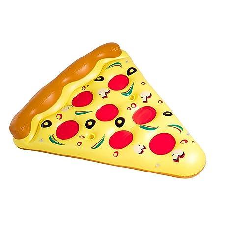 Sucastle Flotador Inflable para Piscina con Forma de Pizza,para Adultos niños Playa Fiestas de